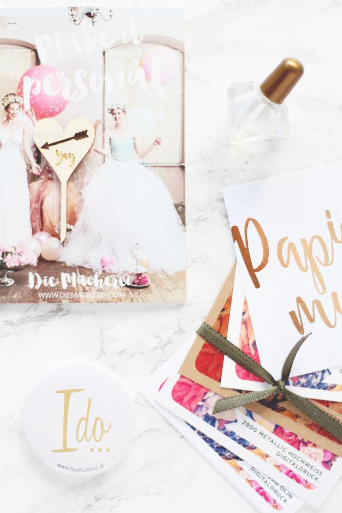 Because I said yes: Ein kleines Hochzeitsupdate & die Wedding Box