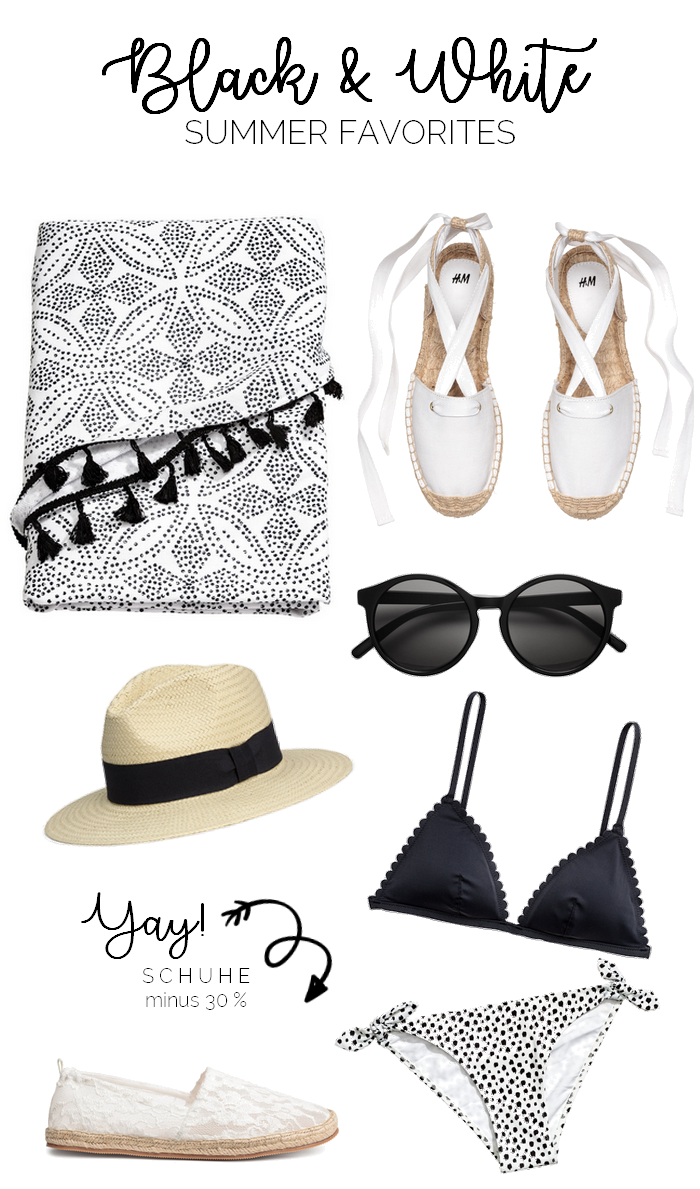 Wish a Week: Black & White Summer Favorites