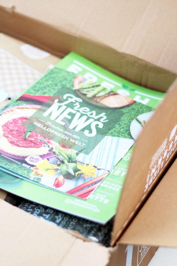 Meine Erfahrungen mit der HelloFresh Veggie Kochbox