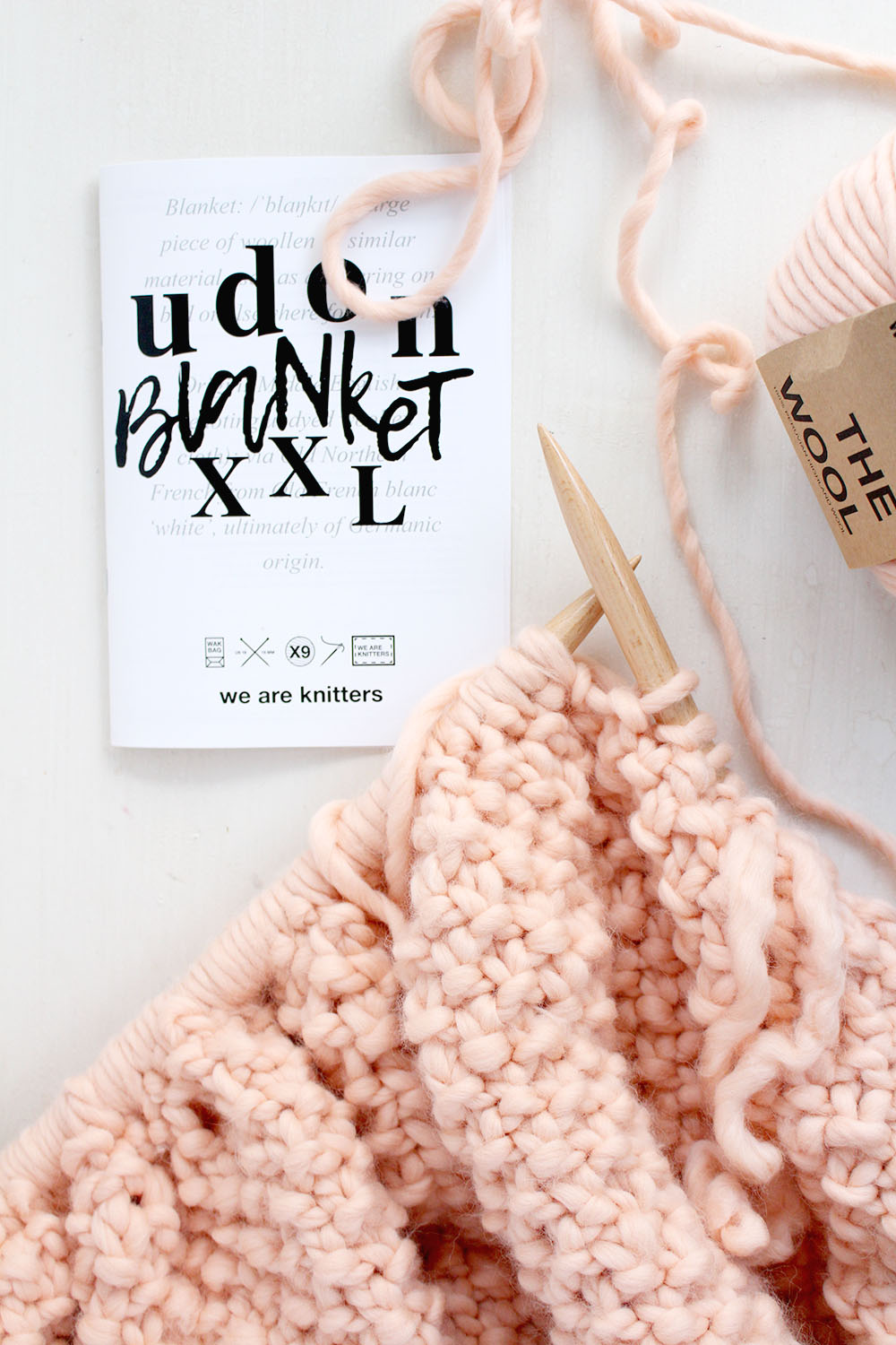 diy udon xxl blanket we are knitters gewinnspiel provinzkindchen. Black Bedroom Furniture Sets. Home Design Ideas