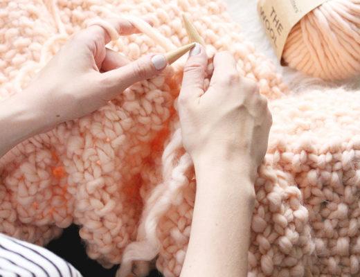 DIY: Udon XXL Blanket + We Are Knitters Gewinnspiel