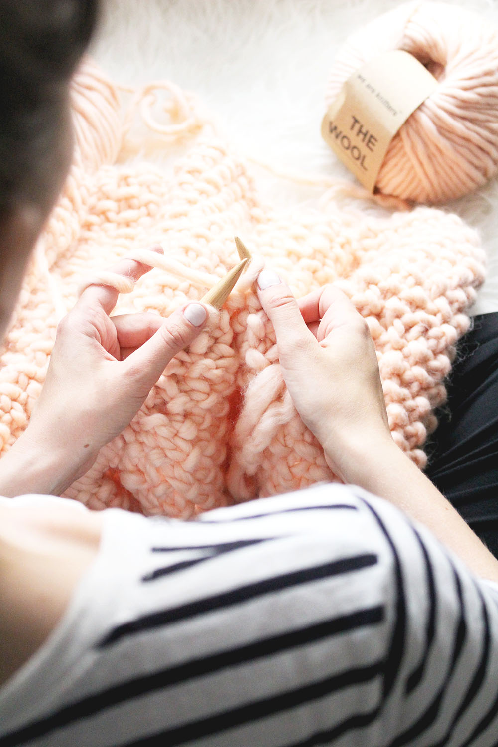 DIY: Udon XXL Blanket + We Are Knitters Gewinnspiel
