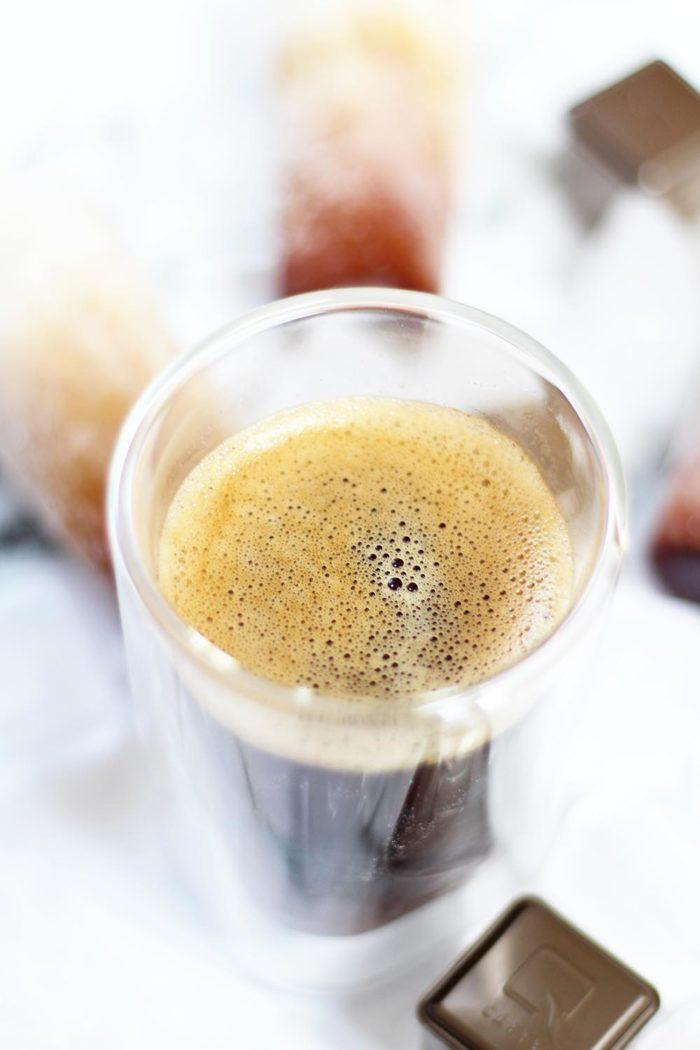 Veganes Kaffee-Eis am Stiel - Qbo Create Your Coffee