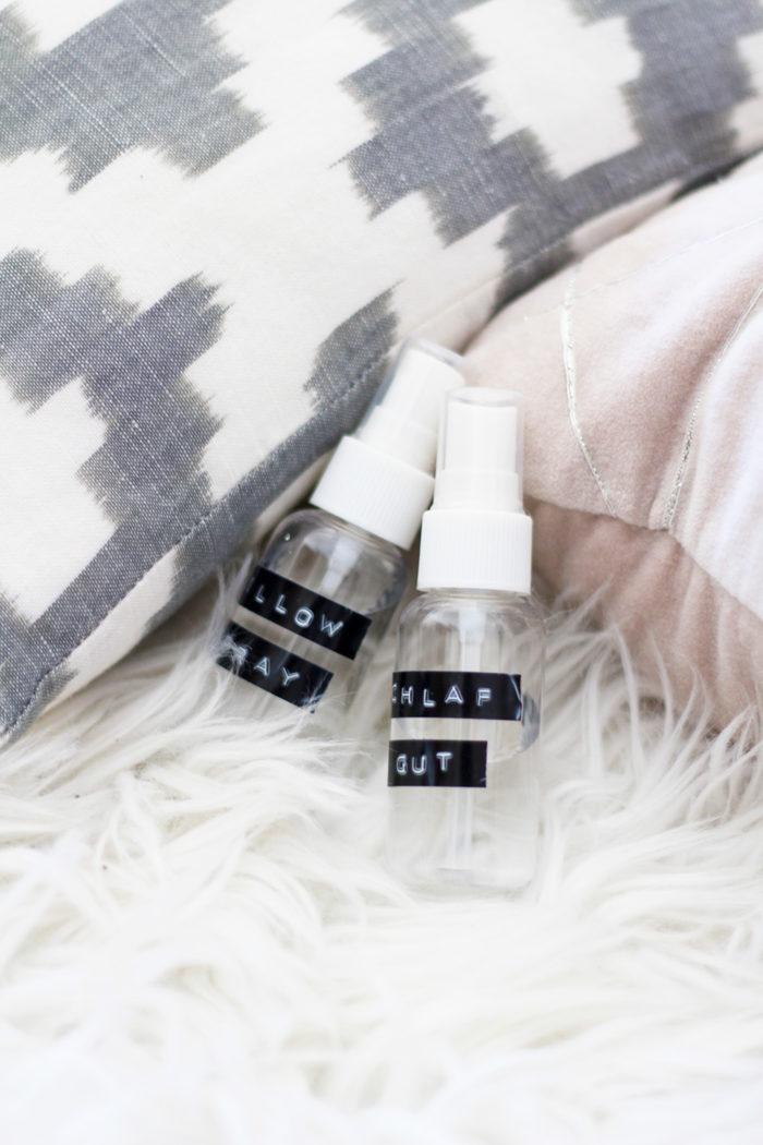 Lavendel Pillow Spray selber machen + 4 gratis Prints für ...