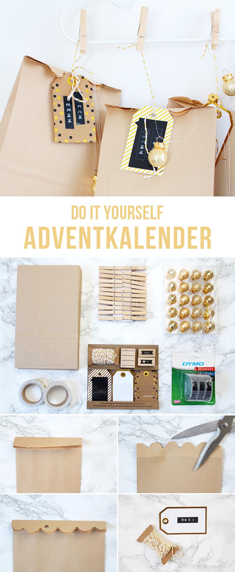 DIY: Adventskalender selber machen
