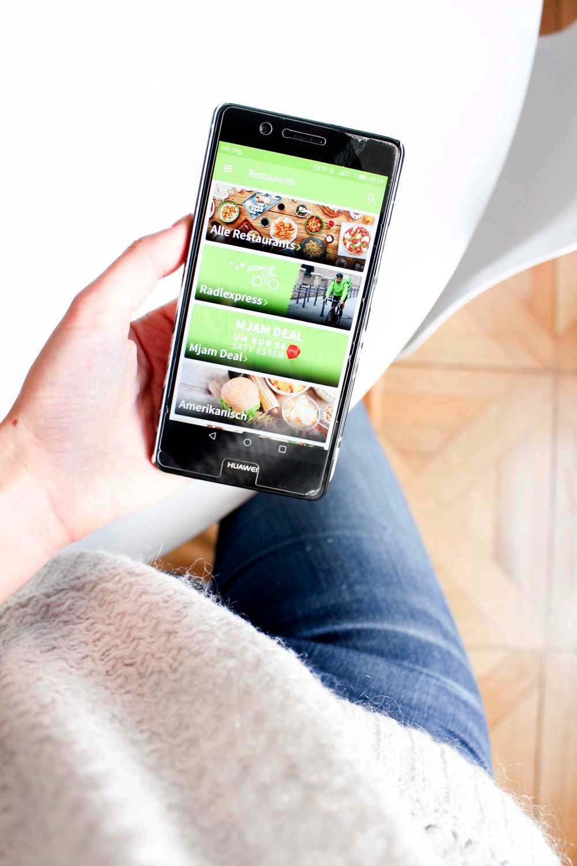 Graz Tipp: Mjam Deal Graz - 3 Lieferservices aus Graz im Test