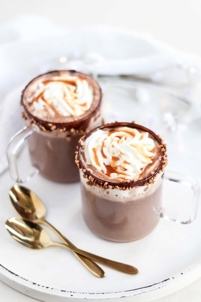 Salted Caramel Hot Chocolate selber machen