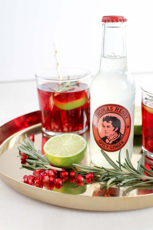 Weihnachtliche Getränkideen mit Thomas Henry - provinzkindchen
