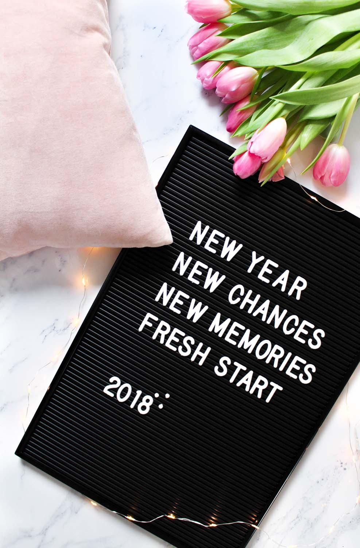 Was ich 2018 mehr und weniger machen möchte