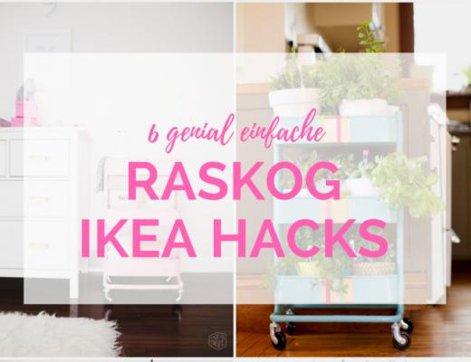 6 IKEA Hacks mit dem RASKOG Servierwagen