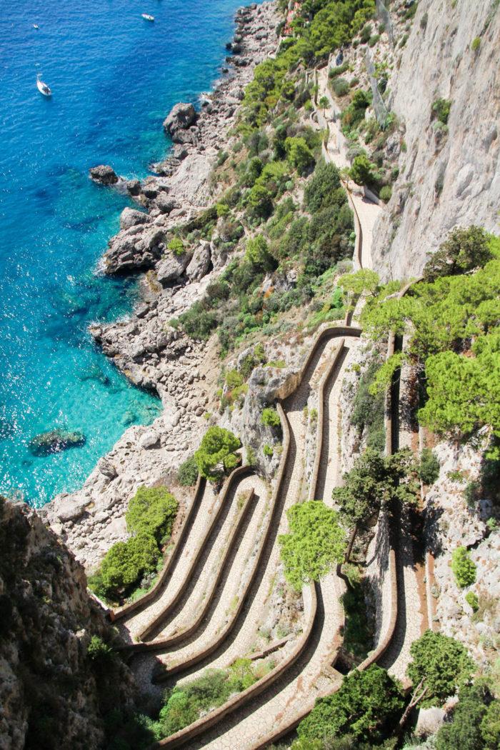 Ein Tagesausflug nach Capri | Marina Granda Capri | Via Krupp