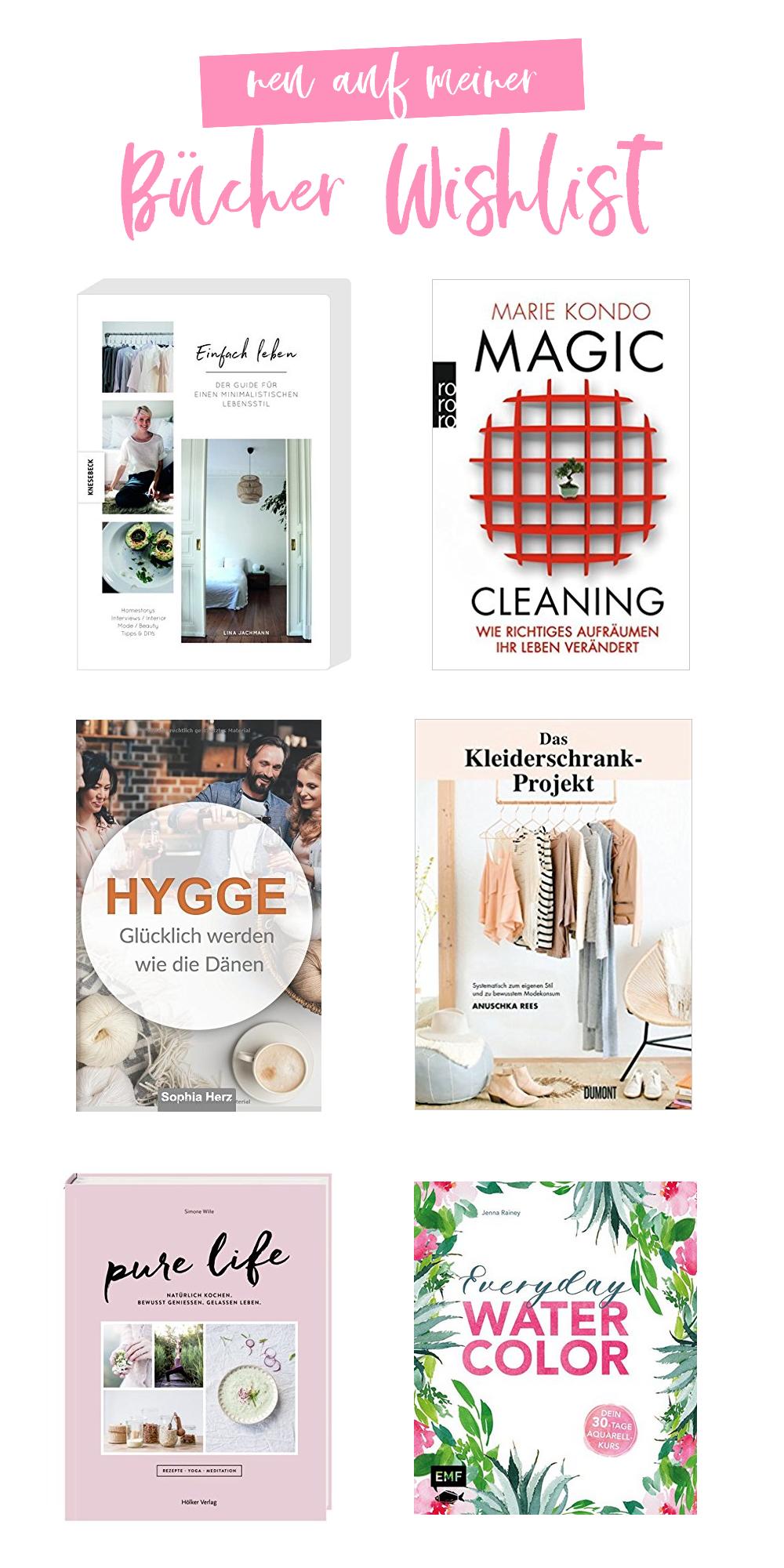 Leben, Kochen, Kreativität - Neu auf meiner Bücher Wishlist