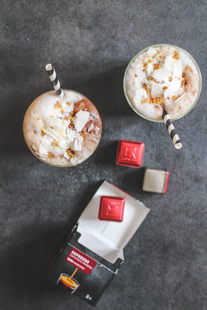 Schoko-Kokos-Eiskaffee