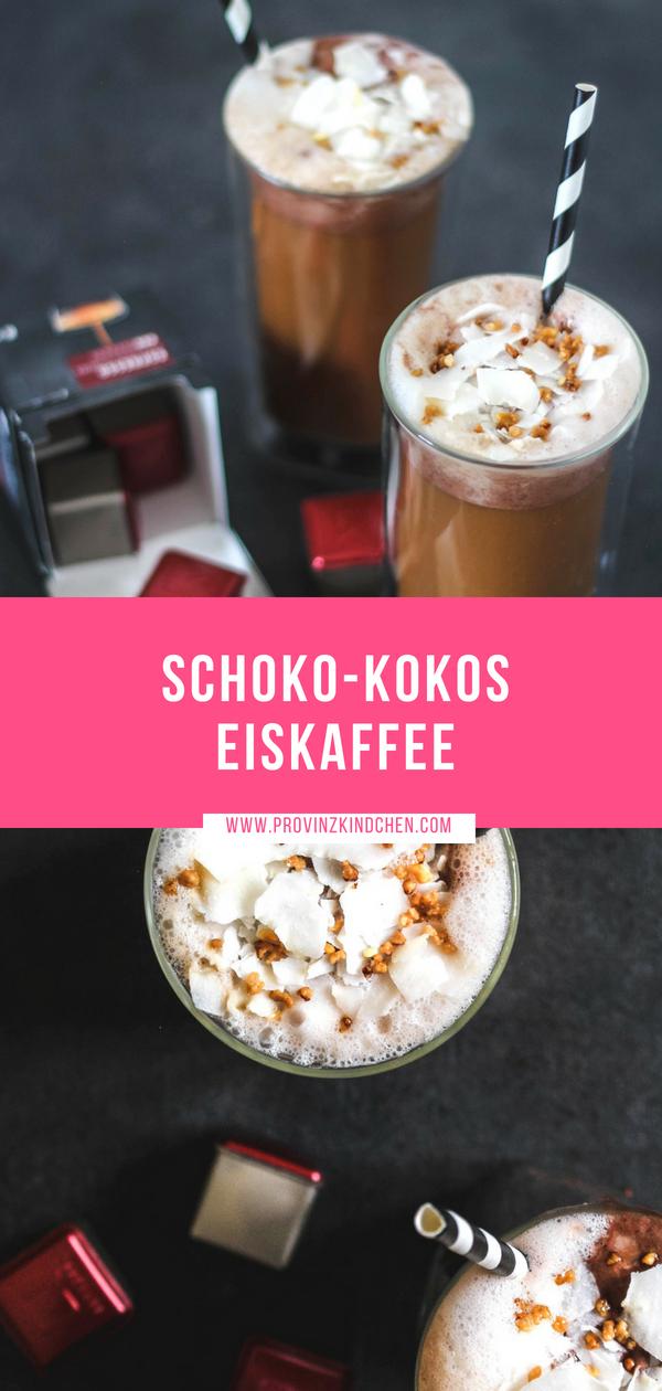 Rezept: Schoko-Kokos-Eiskaffee