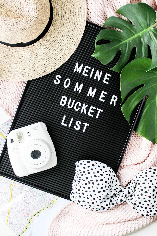 Meine Summer Bucket List: 13 Ideen für den Sommer für wenig Geld