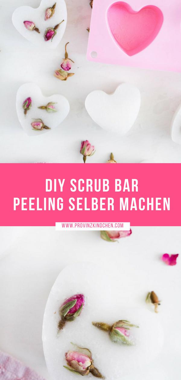 DIY Scrub Bar: Festes Peeling selber machen