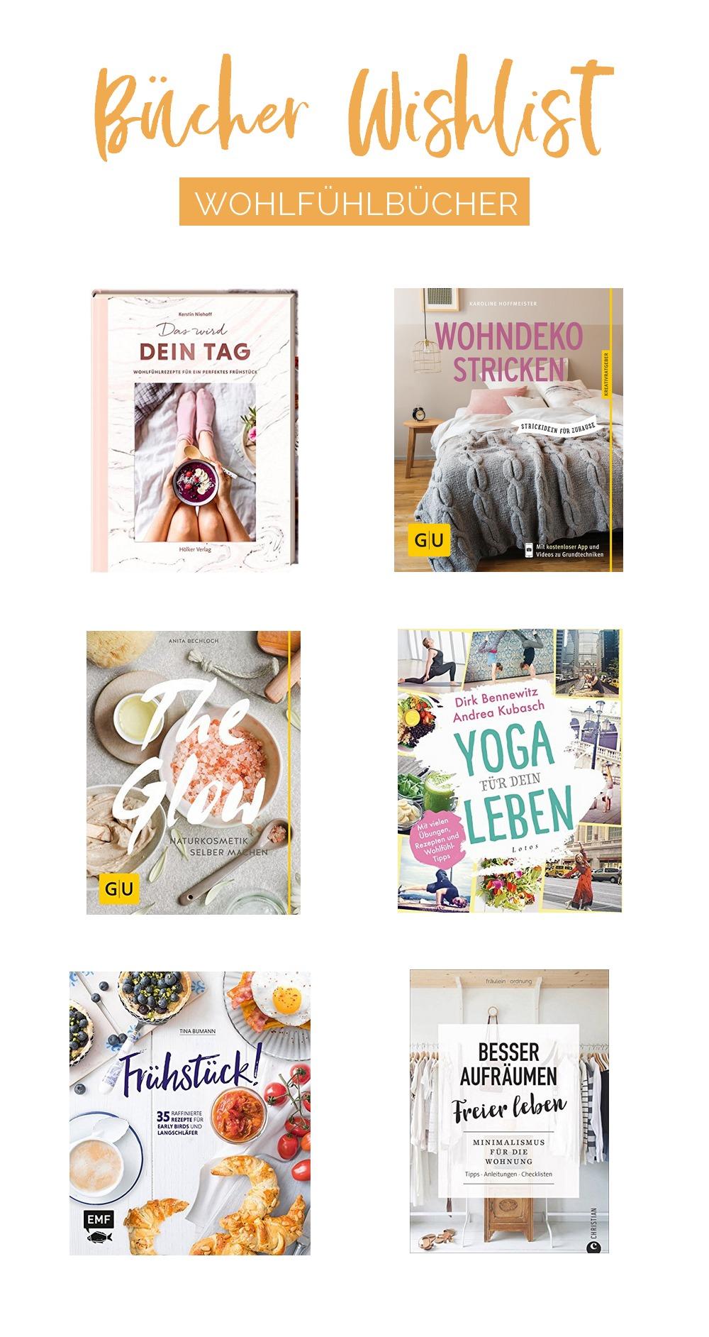 Auf meiner Bücher Wishlist: 6 Wohlfühlbücher für den Herbst