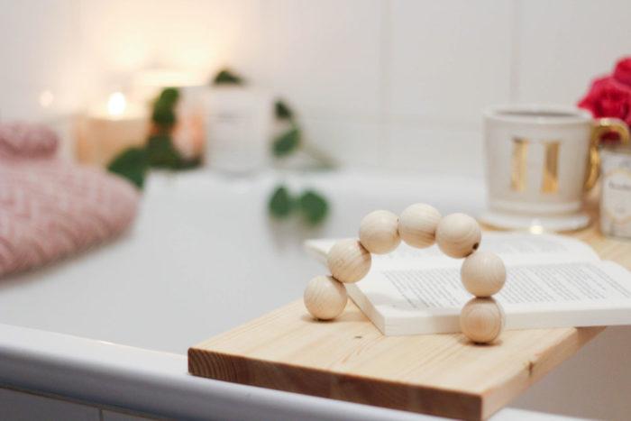 In 6 Schritten zu deiner Metime mit Kneipp + DIY Badewannentablett