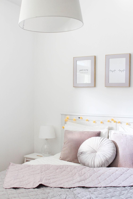 Dekoideen für das Schlafzimmer im Herbst - provinzkindchen