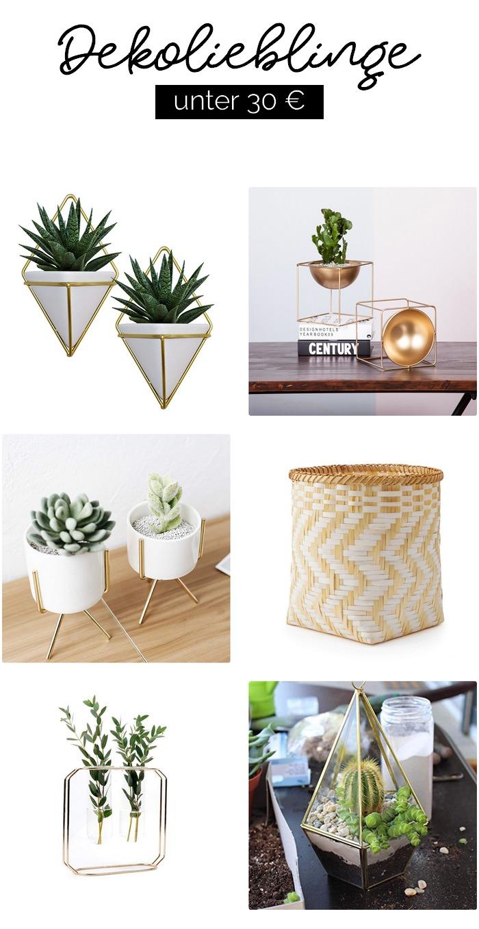 Dekolieblinge: Dekorative Pflanzenständer unter 30 €