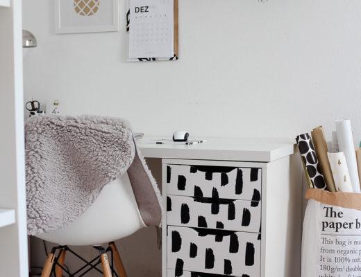 So kannst du deine Wohnung mit selbstklebender Folie verschönern