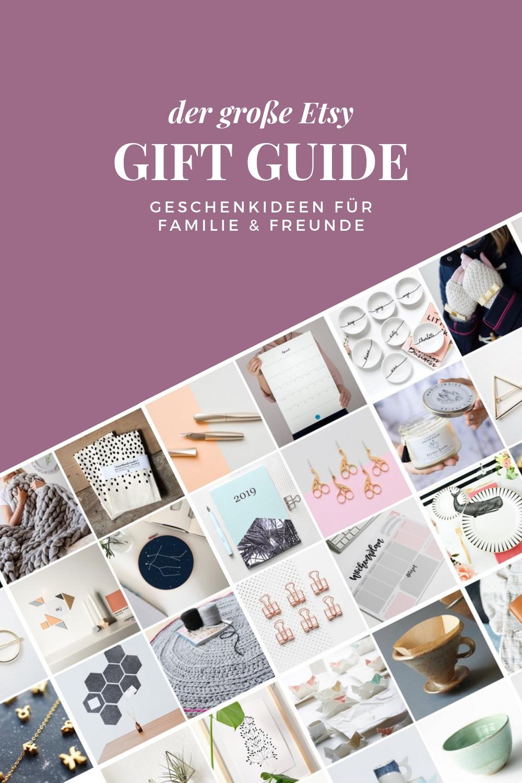 Gift Guide: Handgemachte Geschenkideen von Etsy